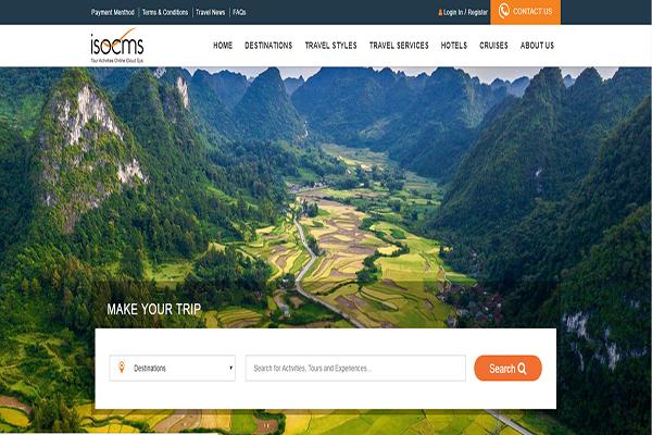 15 mẫu website du lịch đẹp và có tính ứng dụng cao nhất hiện nay