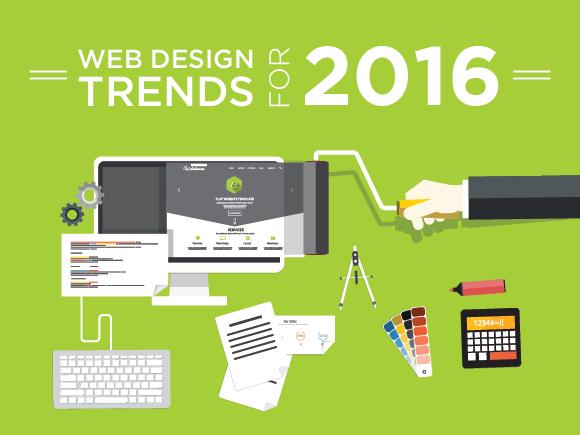 Xu hướng thiết kế giao diện website năm 2016
