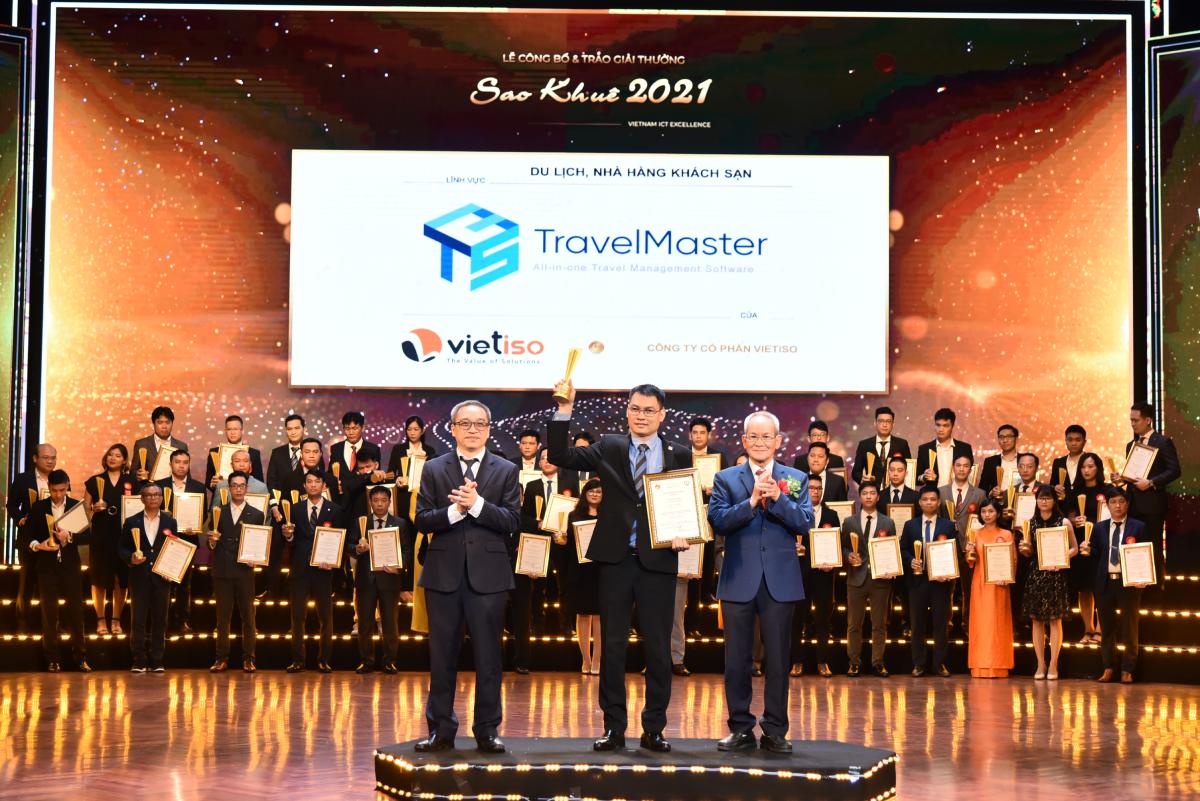 Phần mềm TravelMaster đón nhận danh hiệu Sao Khuê 2021