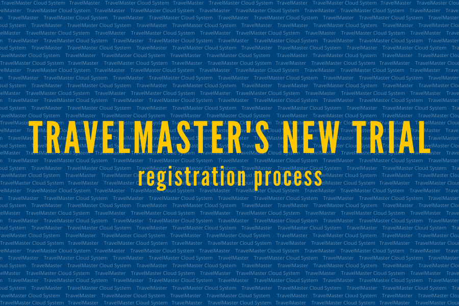 Quy trình đăng ký dùng thử mới của TravelMaster
