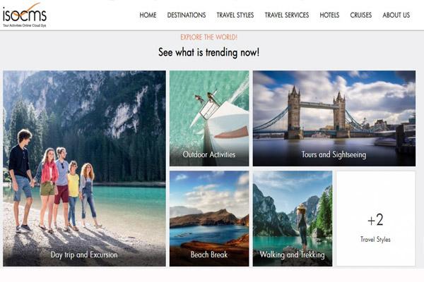 3 Xu hướng hình ảnh trong thiết kế website du lịch