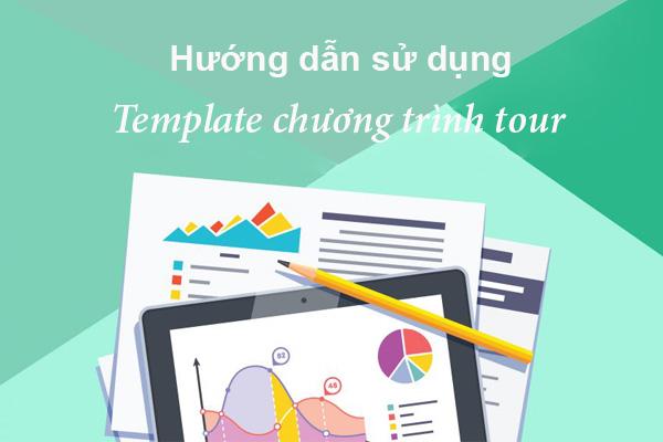 Sử dụng Template chương trình tour trong phần mềm TravelMaster