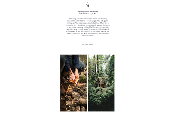 Website du lich hien dai - Anotherescape