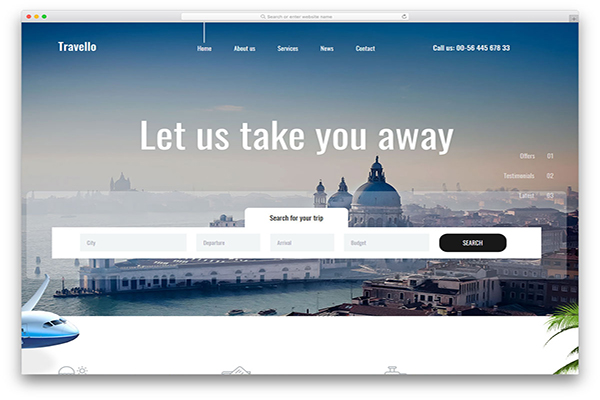 download mien phi website du lịch travello