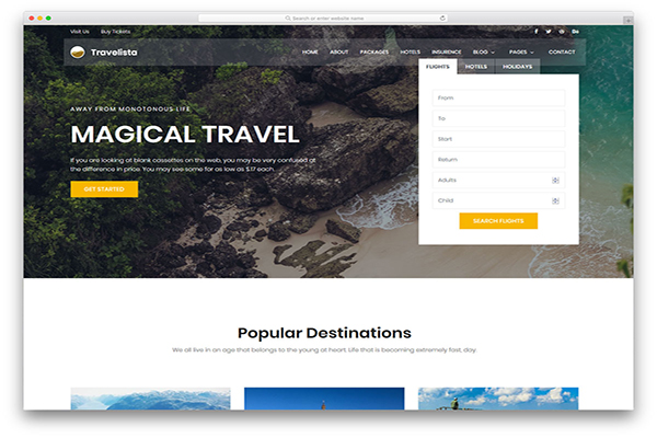 download mien phi website du lịch travelista