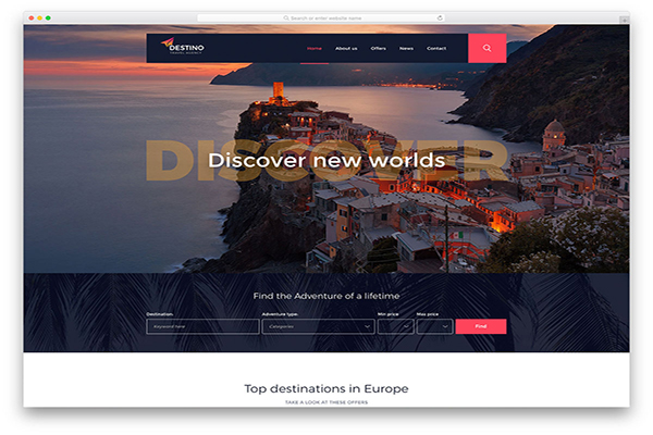 download mien phi website du lịch destino