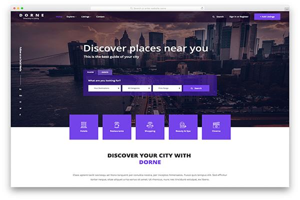download mien phi website du lịch dorne