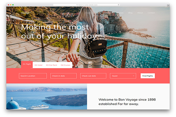 download mien phi website du lịch voyage