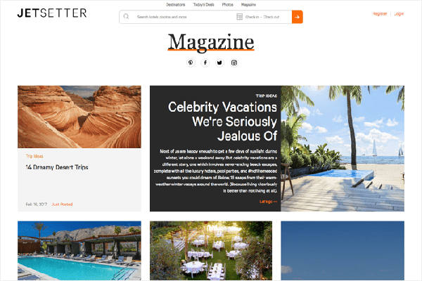 website du lich noi tieng the gioi Jetsetter