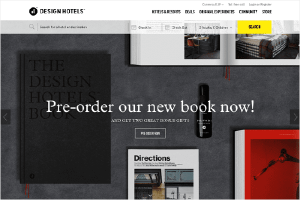 website du lich noi tieng the gioi Design Hotels