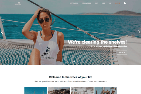 website du lich noi tieng the gioi The yacht week