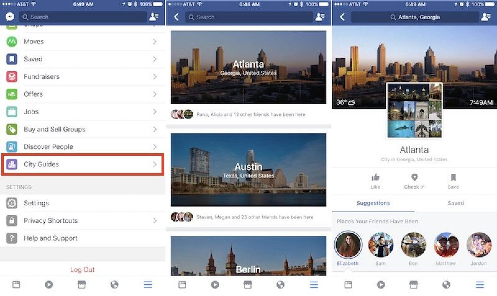 Facebook Guides: tính năng mới ngành du lịch