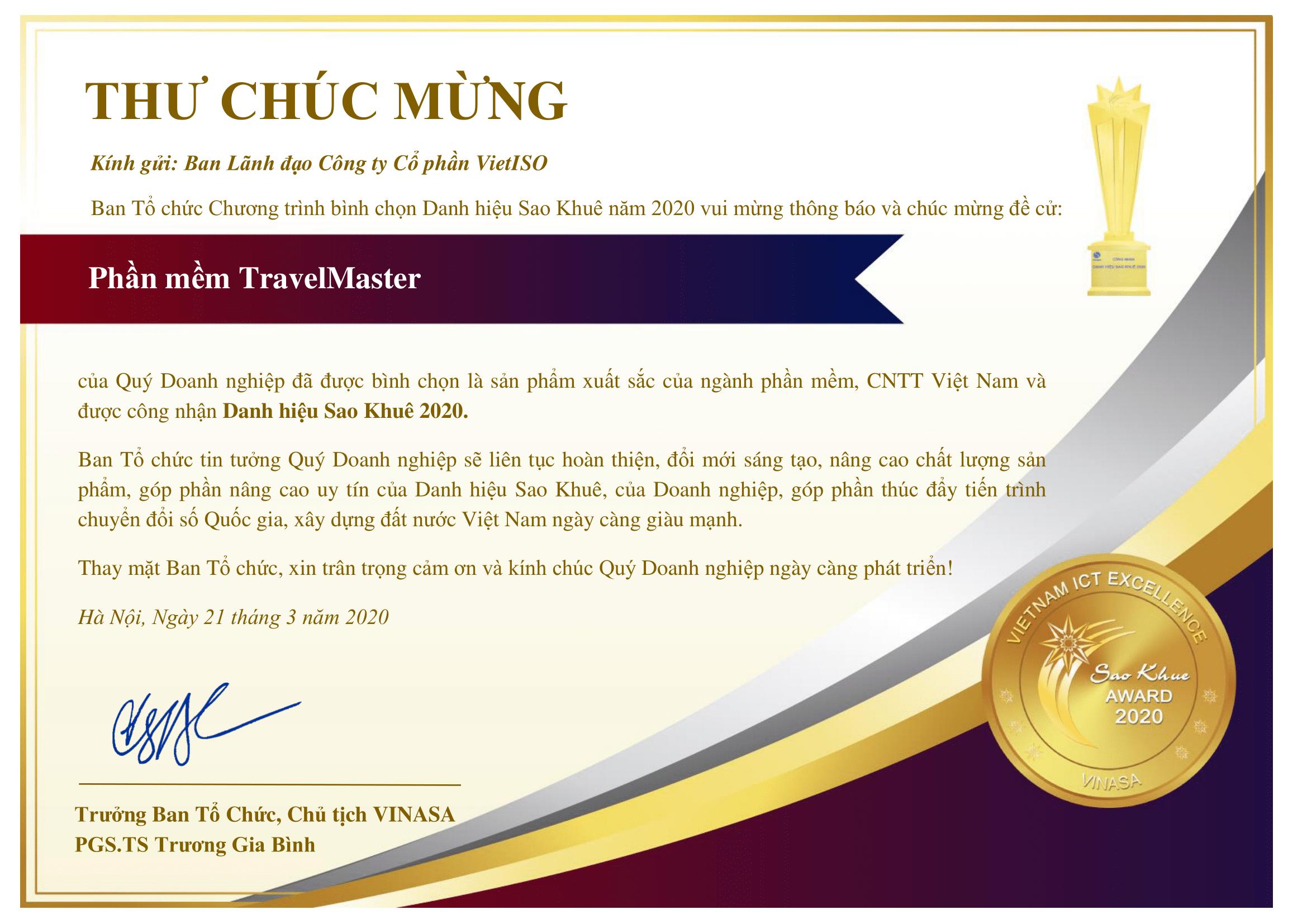 travelmaster-dat-danh-hieu-sao-khue-2020