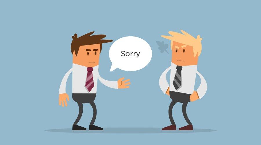 """Xin lỗi liệu Khách hàng bạn có hài lòng không? Hay bạn sẽ mất Khách hàng """"VĨNH VIỄN"""""""