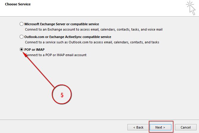 Cấu hình Outlook sử dụng Zimbra Mail Server   VietISO Com