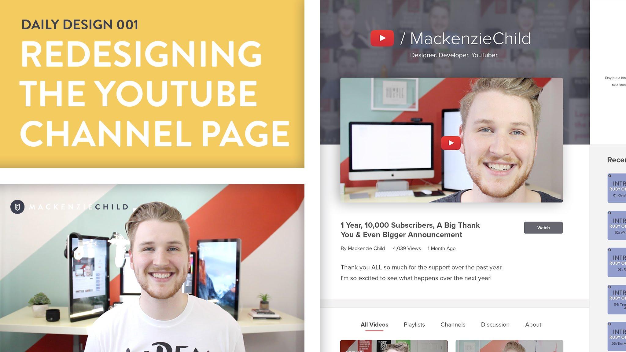 27 Kênh Youtube mà Developer và Designer không thể không biết