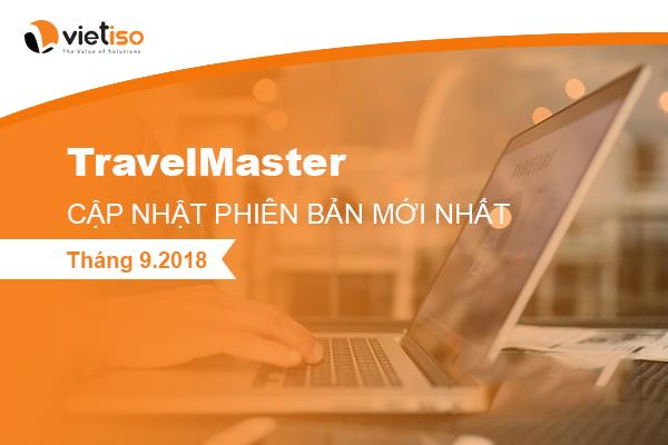 TravelMaster cap nhat phien ban thang 9 nam 2018
