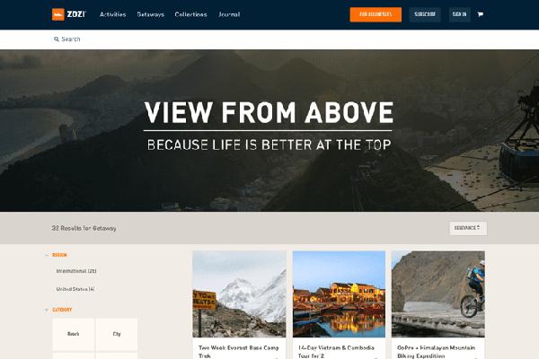 Học tập cách thiết kế của 9 website du lịch nổi tiếng thế giới