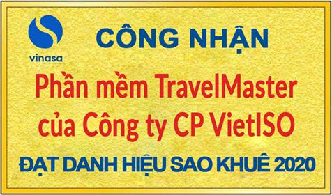 Sao Khuê vinh danh TravelMaster - Giải pháp Quản trị DN Du lịch - Lữ hành xuất sắc nhất